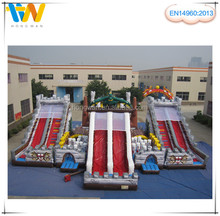 2015 high quality inflatable combo games, inflatable slide bouncer