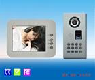 8 polegada com botão de toque telefone Video da porta para sistema de intercomunicação edifício
