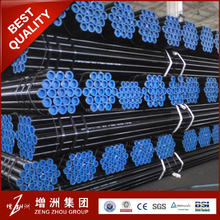 China manufacturer ASTM A106 seamless carbon steel pipe / ASTM API 5L carbon steel pipe / sch40 sch80 black seamless steel pipe