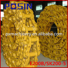 Excavator Undercarriage Parts Track Link Assembly/Track Chain Assy E200B/SK200-5