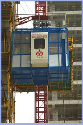 China made construction hoist machine with good quality/CE/Export Type/Safe & Steady