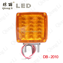 12v double face stop turn signal function over size led truck light