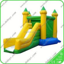children bouncer green inflatable cheap bouncing house