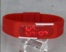 2015 New silicon rubber product Sports Bracelet LED Watch Sports silicon rubber product