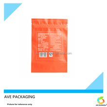 Three Side Sealing Plastic Bag For Tea in wechat business
