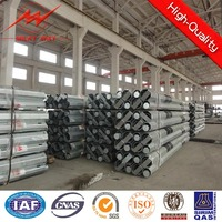 11.8m 8KN african electrical power pole