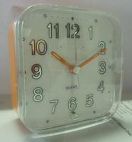 Simple modern design table sweep Clock Snooze Beep crescendo sound