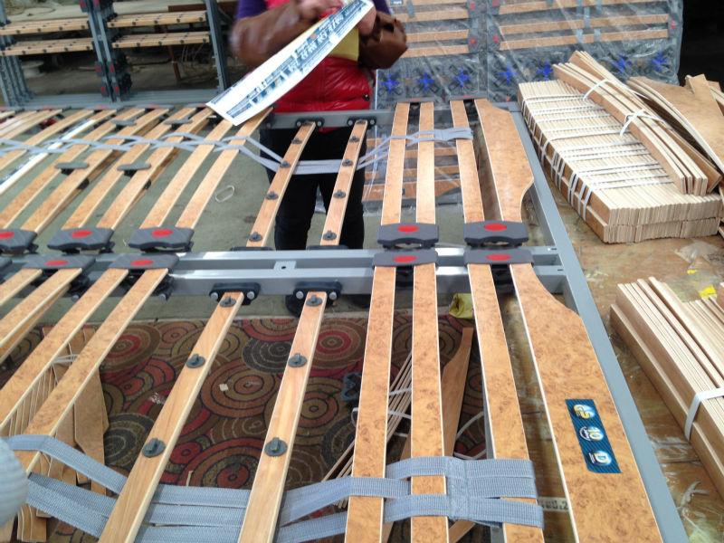 MF/LAM002 L COMFORT 5 FOLD FOUNCTION BED OKIN MOTOR ADJUSTABLE BED/LUXURY MOTOR BED FRAME/PLASTIC SLAT FRAME