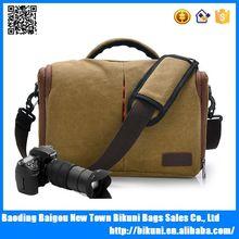 Shoulder Durable canvas digital camera bag dslr camera bag canvas camera bag