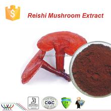 free sample HACCP KOSHER FDA high quality 100% natural reishi mushroom extract 4% ganoderma triterpenes supplier