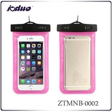 2015 Top Quality Smart Swimming Mobile Phone Bags For Girls And Boys Waterproof