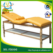 masters massage table without side armrest extension