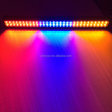50inch muti color light bar with RGBAW flash off road light bar with wire harness, wireless remote control
