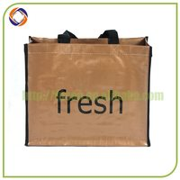 Newest promotional reusable folding rose shopping bag