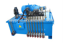 Hydraulic system is applied to the double action deep drawing hydraulic press