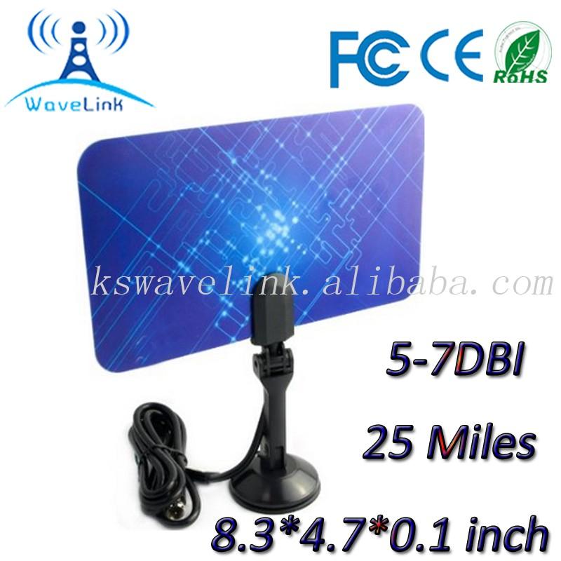 Portable satellite uhf vhf num rique int rieur hdtv for Antenne numerique interieur