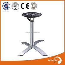 HD318 cast iron table base turned adjustable turned table legs uk