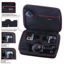 Smatree Travel and Carrying Case for Hero4 / 3+ / 3 / 2 / 1 Digital Cameras