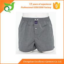Hot sale OEM service woven mens underwear oem