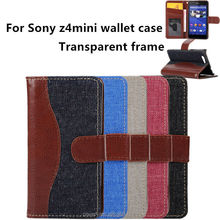 new products fashion phone cases for sony xperia z4 mini wallet frame lanyard Z4MINI smartphone cover mobile accessories