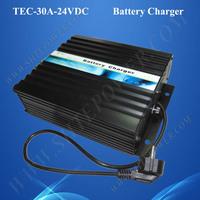 24 Volt 30 Amp Solar Car Battery Charger 24V 220V