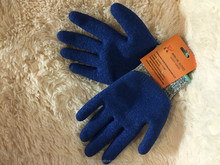 top cotton natural latex wrinkle gloves