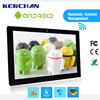 15.6 Inch wall mounted android tablet 4gb ram , 22inch lcd usb video advertising player