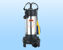 Guangdong supply V1500F submersible sewage treatment pumps outlet water pump