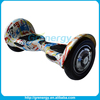 2016 new product 10 inch big two wheel balancing board electric bicycle hoverboard electric skateboard