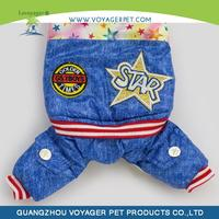 Lovoyager 2014 new pet products fashion winter dog clothes dog panty coat for wholesale
