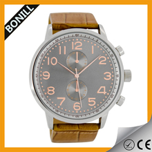 2015 stylish watches import watches japan movement top 10 name brand wrist watch