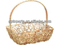wholsale easter wicker basket new design cane rattan basket willow basket