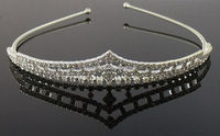 New Arrival Crystal Bridal Tiara Pageant Crown Tiara