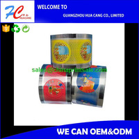 cling film jumbo roll/opp plastic film rolls/pet peelable medical packing film