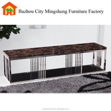 2015 modern luxury marble tv stand design used for living room furniture