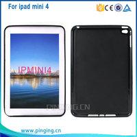 ultra soft pudding tpu case for ipad mini 4 ,back cover for ipad mini 4, mobile phone case for ipad mini 4