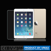 New arrival ! high quality ultra thin and clear 2.5D 0.26 mm 9H tempered glass screen protector for ipad Pro