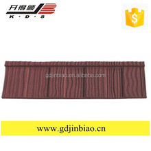 UPVC Roof Tile Material and Coating Surface Treatment Metal Roof Tiles High Efficiency