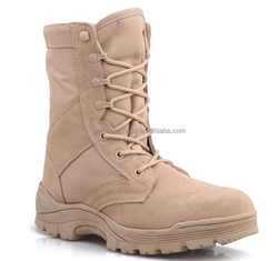 2015 High Quality Leather Military Tan Desert BootsTan Combat BootsJungle Boots SNS7566
