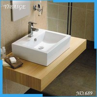 Portable China manufacture ceramic hand wash basin