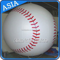 Giant Inflatable Baseball Model For Sports Event And Ceremony Decoration