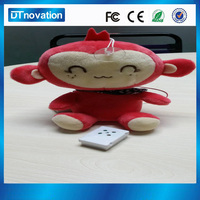 Plastic case customized sound box for toys promotion