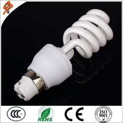 Best 8000 Hours Daylight 12W Florescent Light CFL E27 B22 Half Spiral Energy Saving Lamp