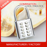 Safe 10 Digits Combination Lock for Locker