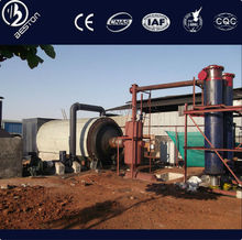 Handling capacity 6-10T waste plastic to oil pyrolysis plant