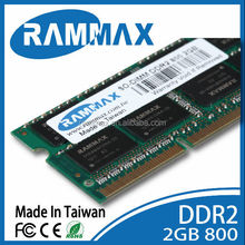 China suppliers of laptop ram ddr2 2gb 800mhz