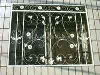 The simple&new designs decorative wrought iron window grill