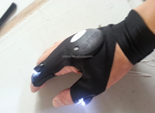 As Seen On TV Glove Lite Glove with LED Light GloveLite flashlight lighting sport glove