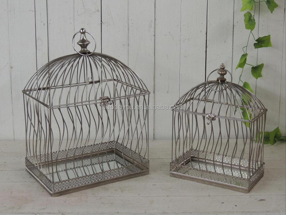Antique Metal Bird Cage For Home Decoration - Buy ...