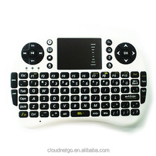 Hot!!! 2.4GHz wireless Keyboard with Touchpad Operating Distance Over 15 Meters For Android TV box/TV Stick For easy control